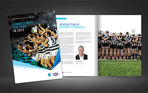 Telstra AFL season launch book