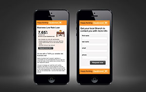 Bankwest mobile microsite