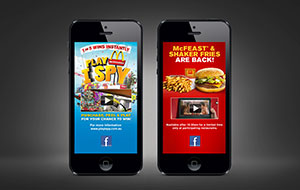 McDonalds mobile rich media